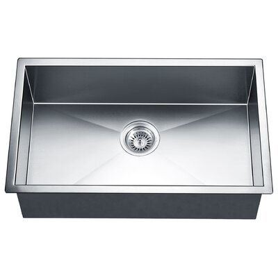 30 x 18 Single Bowl Kitchen Sink