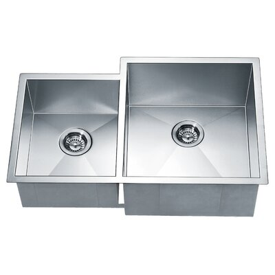 33 x 20.5 Double Bowl Kitchen Sink