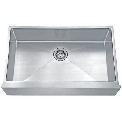 Apron 33 x 19.68 Single Bowl Undermount Kitchen Sink