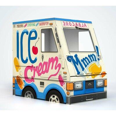 Ice Cream Truck Cat House