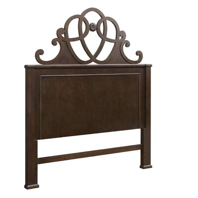 Blue Heron Queen Panel Headboard Color: Mahogany