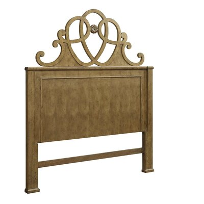 Blue Heron Queen Panel Headboard Color: Fruitwood Jacobean