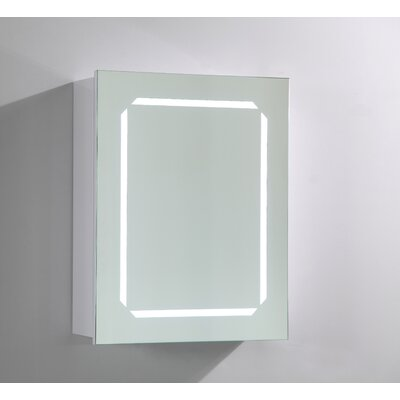 20 x 25 Surface Mount Medicine Cabinet with LED Lighting