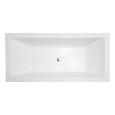 66.5 x 31.5 Freestanding Soaking Bathtub