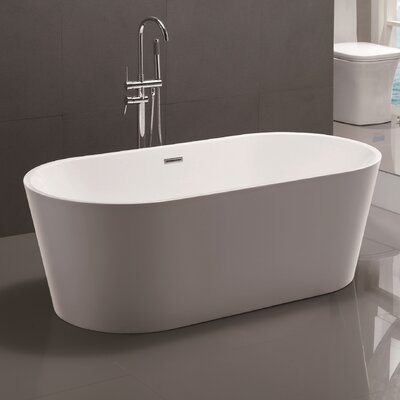 67.5 x 32 Freestanding Soaking Bathtub