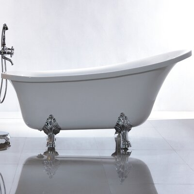 69 x 30 Freestanding Soaking Bathtub