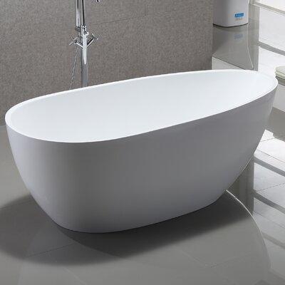 67 x 31.5 Freestanding Soaking Bathtub