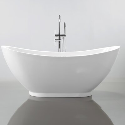 69 x 32 Freestanding Soaking Bathtub