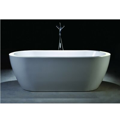 67.7 x 30.7 Freestanding Soaking Bathtub