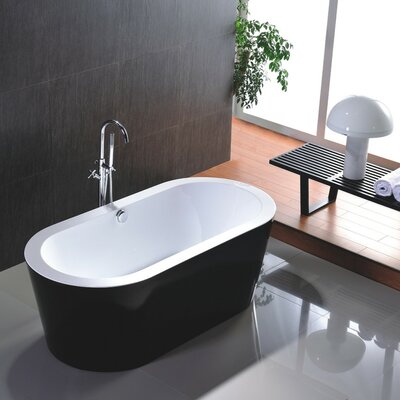 67.7 x 36 Freestanding Soaking Bathtub