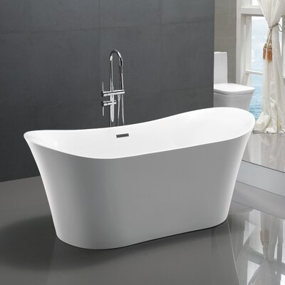 67 x 29 Freestanding Soaking Bathtub
