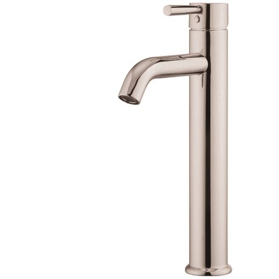 Standard Bathroom Faucet with Drain Assembly Finish: Brushed Nickel