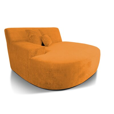 Ampio Chaise Lounge Upholstery: Dune