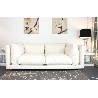 Nuvola Sofa Upholstery: Snow