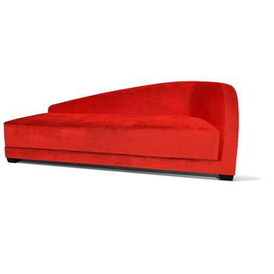 Pendio Chaise Lounge Upholstery: Lipstick