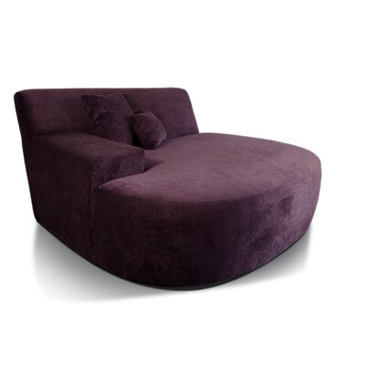 Ampio Chaise Lounge Upholstery: Purple