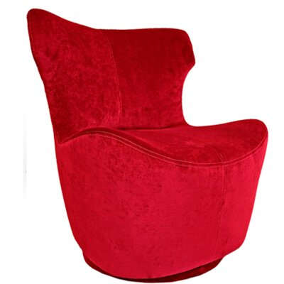 Pico Swivel Side Chair Upholstery: Lipstick