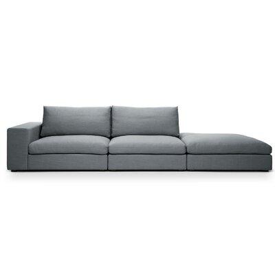 Sala Sofa Color: Belfast Gray