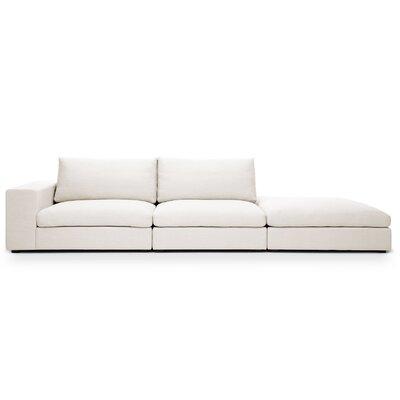 Sala Sofa Color: Belfast White