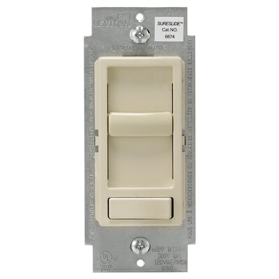 Decora Sureslide Dimmer Finish: Light Almond