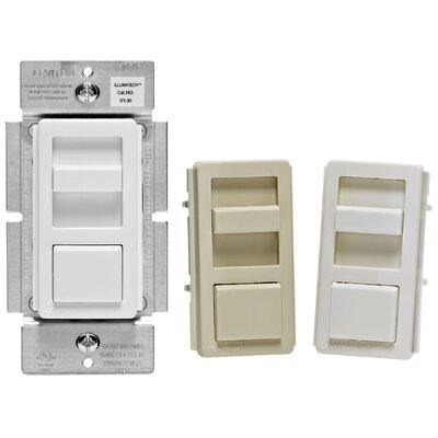 Preset Single Pole Slide Dimmer