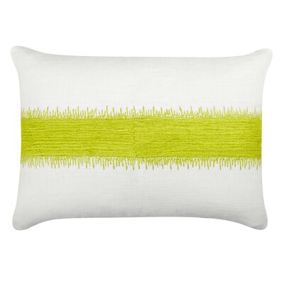 Caroline Cotton Lumbar Pillow Color: Citrus