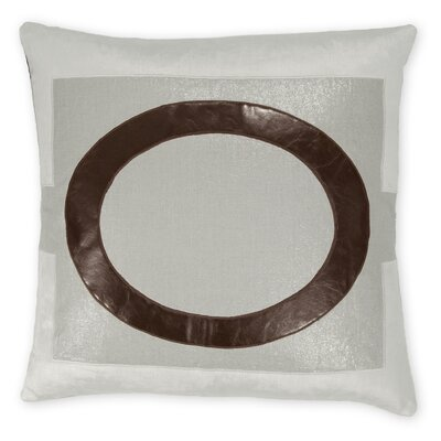 Lawson Faux leather/Linen/Velvet Throw Pillow