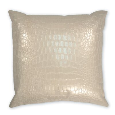 Jagger Faux Leather Throw Pillow