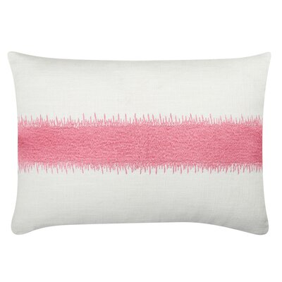 Caroline Cotton Lumbar Pillow Color: Bubblegum