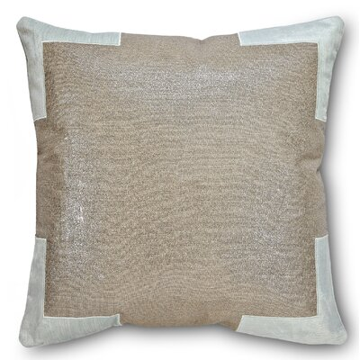 Tracy Linen Throw Pillow Color: Mint