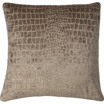 Lagoon Velvet Throw Pillow