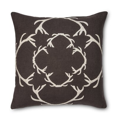 Dasher Linen Throw Pillow