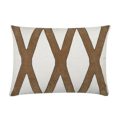Dominick Lumbar Pillow Color: Toffee