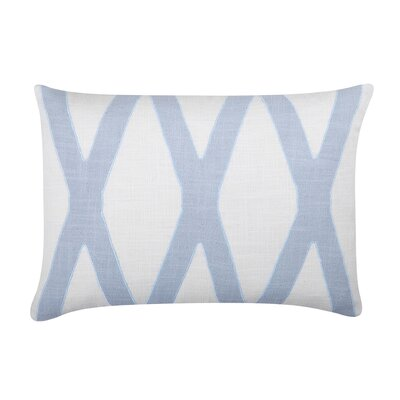 Dominick Lumbar Pillow Color: Pale Blue