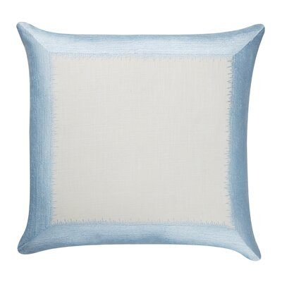 Ella 100% Cotton Throw Pillow Color: Pale Blue