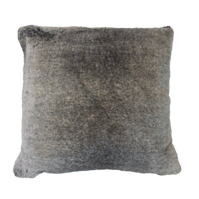 Finny Faux Throw Pillow