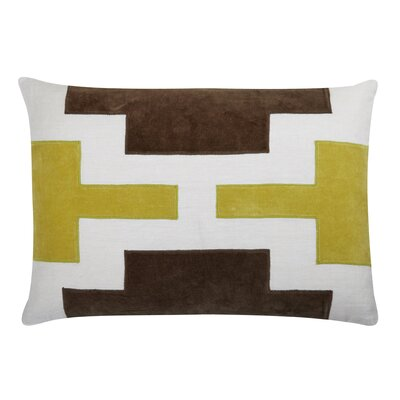 Lois Lumbar Pillow Color: Citrus