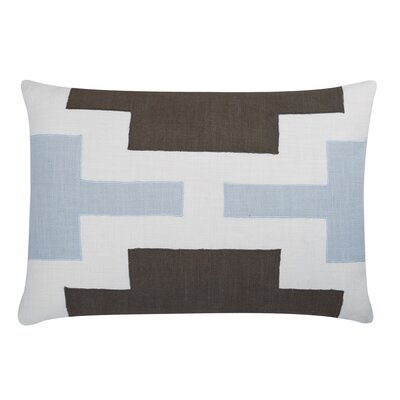 Lois Lumbar Pillow Color: Pale Blue