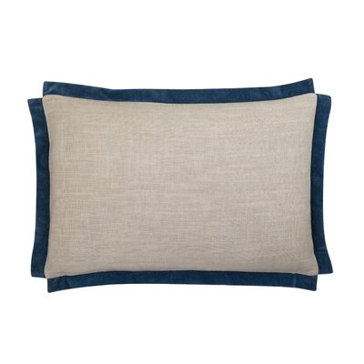 Michelle Lumbar Pillow Color: Navy