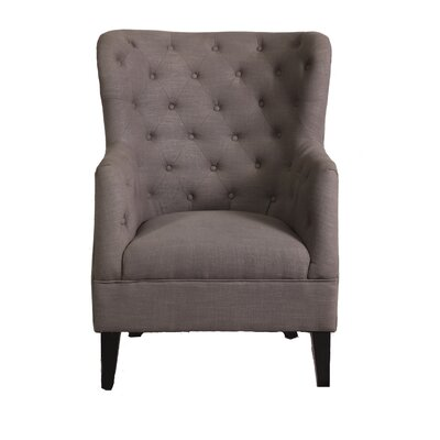 Caspar Wingback Chair Color: London Gray