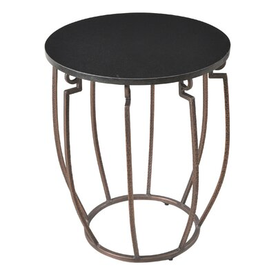 End Table Finish: Black Marble/Copper