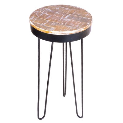 Royals End Table Finish: Black