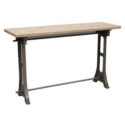 Graydon Wood Top Console Table