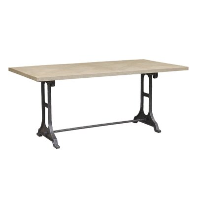 Graydon Wood Top Dining Table