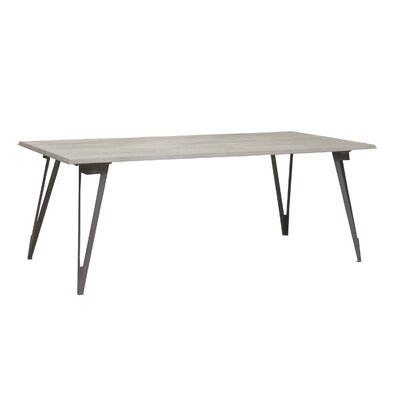 Villeroy Modern Wood Top Dining Table