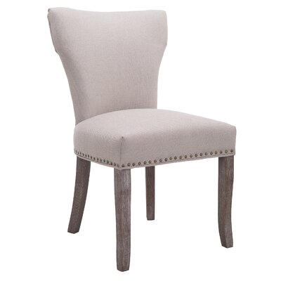 Melvin Nail Head Upholstered Dining Chair