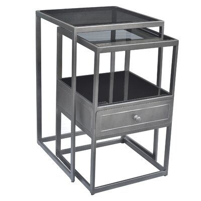 Soma Nesting Tables with Drawer
