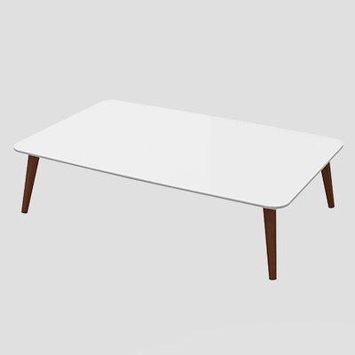 Artesano Lea Coffee Table Color: White