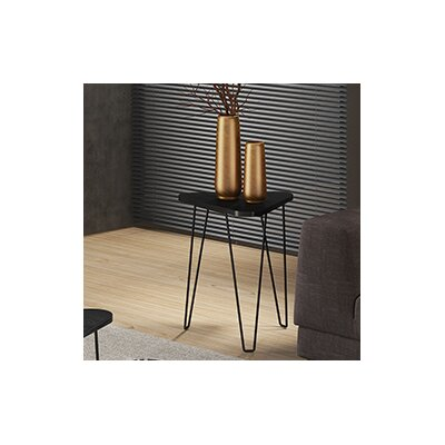 Artesano End Table Color: Black
