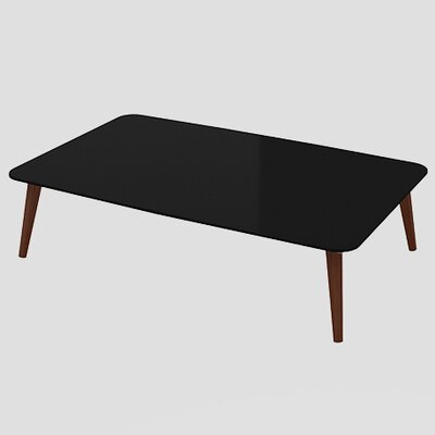 Artesano Lea Coffee Table Color: Black